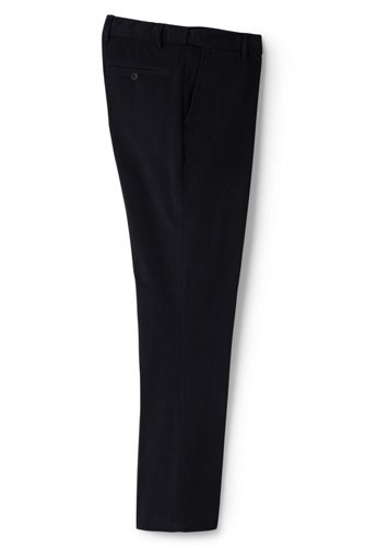 Men's Comfort Waist 18-wale Corduroy Trousers from Lands' End