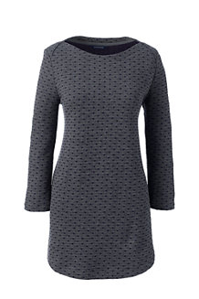 Women's Starfish Jacquard Ballet Neck Tunic