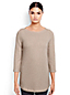 Women's Regular Starfish Jacquard Ballet Neck Tunic