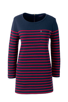 Women's Jersey Striped Top