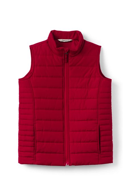 School Uniform Kids Insulated Vest