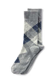 Men's Seamless Toe Cotton Pattern Dress Socks (1-pack)