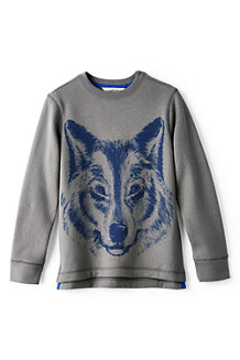 Boys' Graphic Crew Neck Sweatshirt