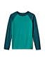 Little Boys' Long Sleeve Textured Raglan Tee