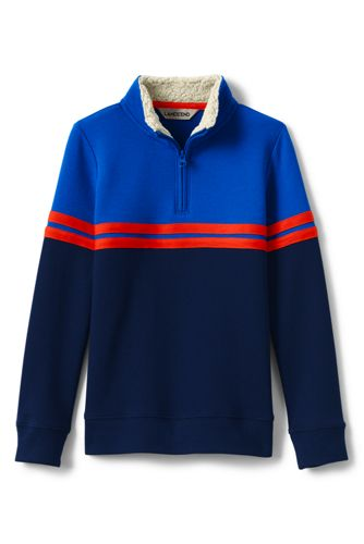 Toddler Boys' Colourblock Half-zip Pullover