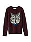 Pullover mit Wolfsmotiv für große Jungen