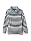Boys' Shawl Collar Stripe Sweater