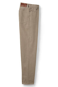 Men's Tan Jeans from Lands' End
