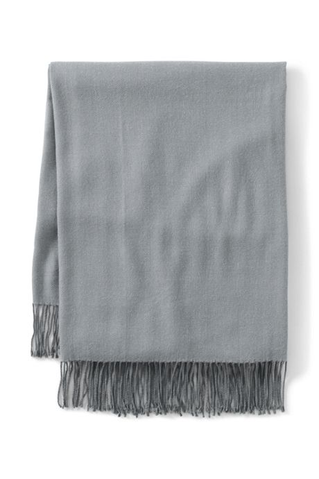 CashTouch Herringbone Throw Blanket