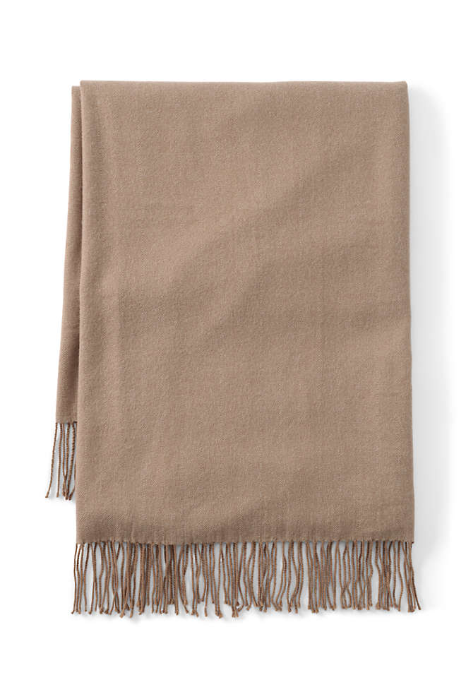 CashTouch Herringbone Throw Blanket, Front