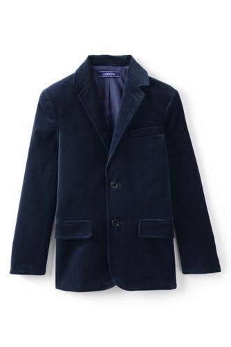 Boys' Velvet Jacket