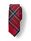 Boys' Brushed Cotton Plaid Tie