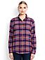 La Chemise en Flanelle à Motifs, Femme Stature Standard