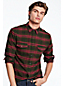 Men's Pima/Yak Hair Flannel Shirt