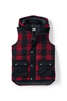 Boys' Fleece-lined Insulated Gilet