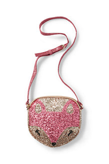 Girls' Crossbody Glitter Bag
