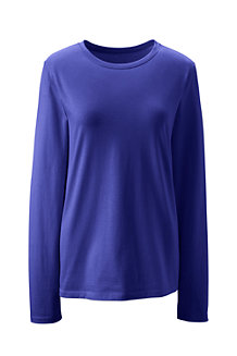 Women's Supima Long Sleeve Crew Neck T-shirt