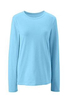 Women's Supima Long Sleeved Crew Neck T-shirt