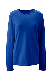 Women's Supima® Long Sleeved Crew Neck Tee