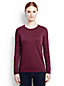 Women's Regular Supima® Long Sleeved Crew Neck Tee