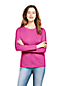 Le T-Shirt Supima® Ras-de-Cou Manches Longues, Femme Stature Haute
