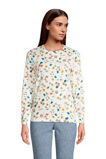 Women's Supima Long Sleeve Crew Neck T-shirt