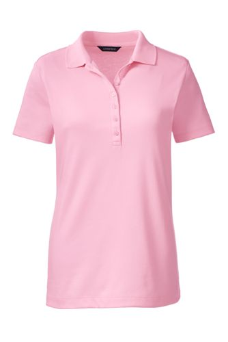 Women's Regular Short Sleeve Pima Polo