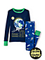 Boys' Glow-in-the-Dark Snug Fit Pyjama Set