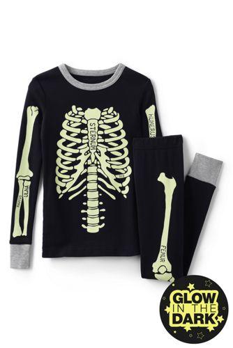 Boys' Skeleton Snug Fit Pyjama Set