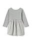 Toddler Girls' Gathered Waist Graphic Jersey Dress