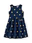 Jacquard-Festtagskleid für große Mädchen