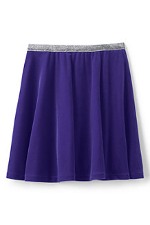 La Jupe en Velours Stretch, Fille