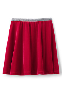 Girls' Velveteen Skirt