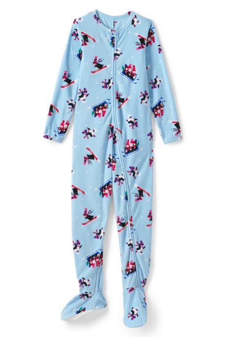 Girls Fleece Footed Sleeper