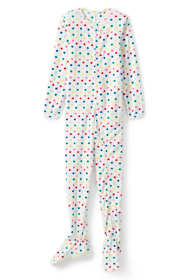 Toddler Girls Fleece Footed Sleeper