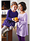 Little Girls' Long Sleeve Embellished Front Yoke Legging Top