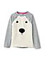 Little Girls' Embellished Sweatshirt