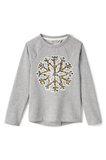 Girls' Embellished Sweatshirt