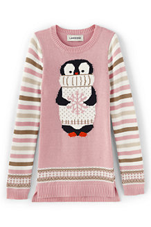Girls' Long Animal Jumper