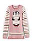 Leggings-Pullover mit eingestricktem Motiv für Baby Mädchen