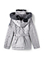 Little Girls' Quilted Metallic Coat