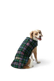 Plaid Dog Puffer Vest
