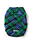 Extra Small Plaid Puffer Down Dog Coat