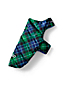 Small Plaid Puffer Down Dog Coat