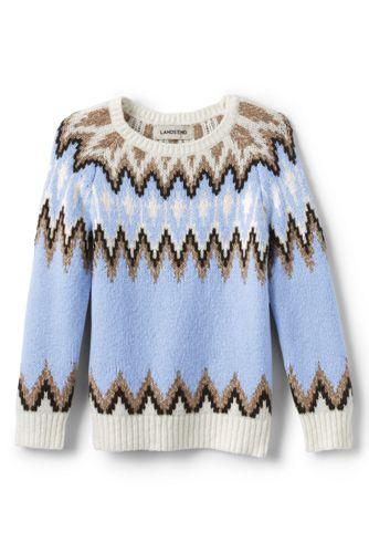 Fairisle-Pullover für Mädchen