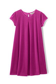 La Robe en Velours Stretch, Fille