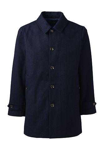 Blanket Hopsack Coat 476823: Navy
