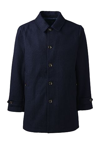 Blanket Hopsack Coat 476823: Navy