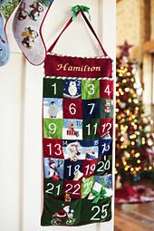 needlepoint advent calendar - Personalized Needlepoint Christmas Stockings