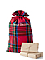 Plaid Santa Sack